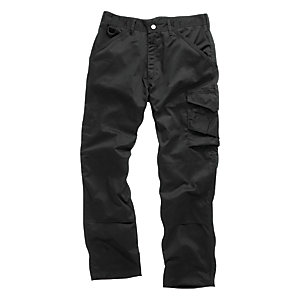 Scruffs Black Worker Trouser 31in Leg