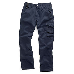 Scruffs Navy Worker Trouser 31in Leg