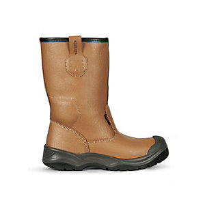 Scruffs Gravity Safety Rigger Boot Tan Size 9