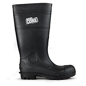 Scruffs Hardcore Skarn Wellington Safety Boots in Black - Size 10