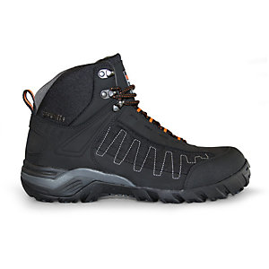 Scruffs Juro Trade Tungsten Hiker Safety Boots in Black - Size 8