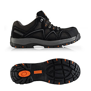 Scruffs Trent Safety Trainer in Black - Size 10