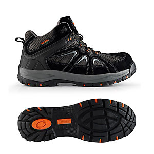 Scruffs Trent Safety Trainer in Black - Size 12