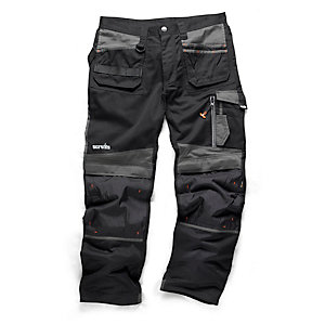 Scruffs 3D Trade Trouser Blk 28inW 29inL T52301
