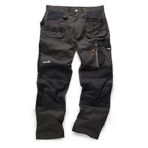 Scruffs 3D Trade Trouser Graphite 36W 33L