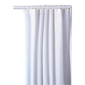 White Shower Curtain 1800 x 1800mm