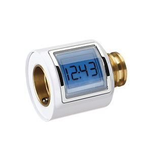 Mira 1.1736.421 Agile Sense Module Digital Display Showing Showering Temperature