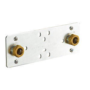 iflo Behind Tile Shower Valve Fixing Plate