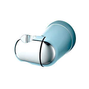 iflo Chrome Shower Handset Wall Bracket