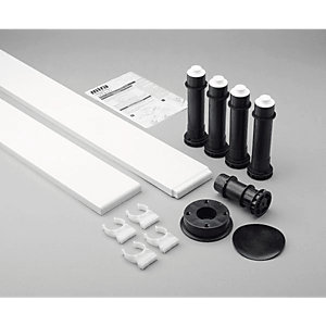 Mira Flight Square Riser Conversion Kit 900 mm 1.1783.101.WH