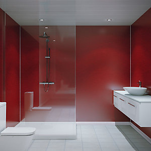 Grant Westfield Multipanel H-Lock Red Pearl Wall Panel 2400 x 1200 mm MP1911SHRHLTG