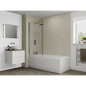 Multipanel Classic Shower Panel 2400 x 1200mm Hydrolock Warm Mica
