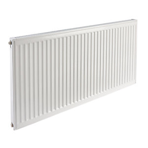Halcyon 600 mm x 1200 mm Single Convector K1 Compact Radiator