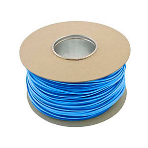 Unicrimp QES4BL 100m x 4mm Earth Sleeving - Blue