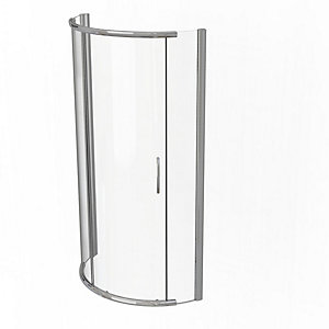 Kudos Infinite Curved Offset Quadrant Sliding Door Shower Enclosure 1200 x 910 mm 4SCDOS129S