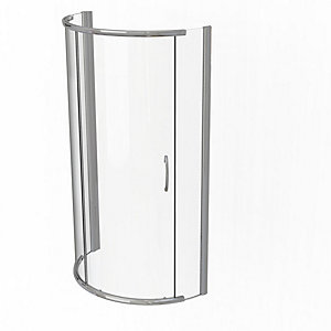 Kudos Infinite Curved Quadrant Sliding Door Shower Enclosure 1000 x 1000 mm 4SCD100S