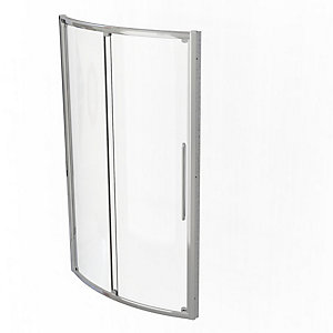Kudos Original Bowed Sliding Door Shower Enclosure 1200 mm 3BOW120S