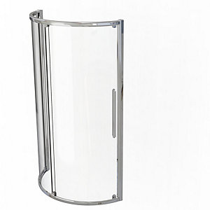 Kudos Original Curved Offset Quadrant Sliding Door Shower Enclosure 1270 x 910 mm 3SCDOS91RS