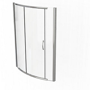 Kudos Infinite Bowed Sliding Door Shower Enclosure 1700 mm 4BOWS170S