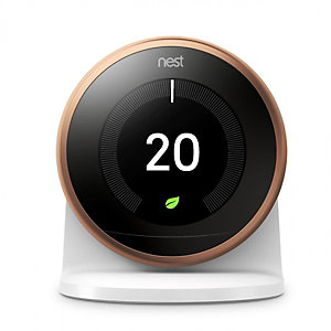 Nest Copper 3RD Generation Smart Learning Thermostat and 3RD Generation Stand
