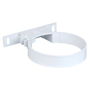 Wavin Osmasoil 110 mm System White Pipe Bracket