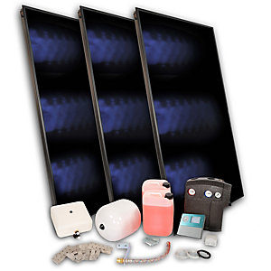 SOLFEX 3X Fk500P On Roof Solar Thermal Prestige Pack Tile