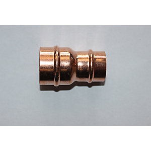PlumbRight Solder Ring Fitting 15 x 10 mm Reducing Coupler