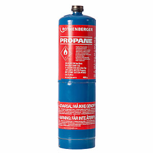 Rothenberger Propane Gas Cylinder 400G 35535