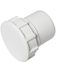 Floplast 32MM ABS Access PLUG White (WS30W) Pack Of 5