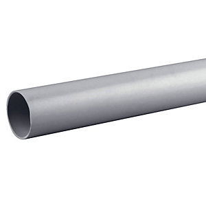 Osma Osmaweld 5Z074 40mm Waste System Grey Plain Ended Pipe 4M