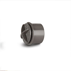 Polypipe Waste Solvent Weld Access Plug Grey 32 mm WS29G