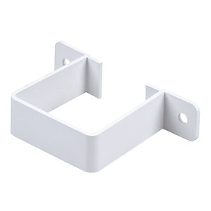 Osma Squareline 4T834 Guttering And Rainwater White Rainwater Pipe Bracket