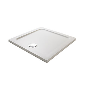 Mira Flight Low Profile Square Shower Tray 1000 x 1000 mm 1.1697.040.WH