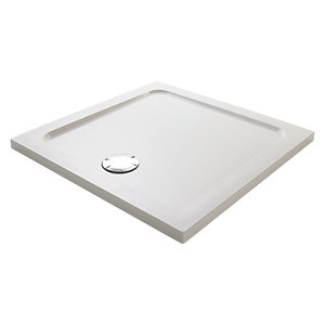 Mira Flight Low Profile Square Shower Tray 900 x 900 mm 1.1697.009.WH