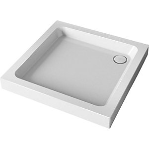 Mira Flight Square Shower Tray 760 x 760 mm (3 Upstands) 1.1783.003.WH