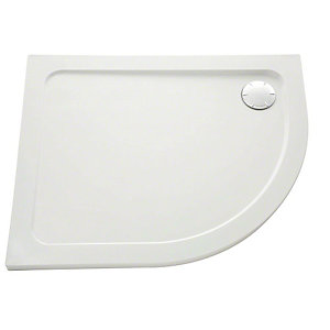Mira Flight Safe Low Profile Quadrant Shower Tray 900 x 900 mm 1.1697.012.AS