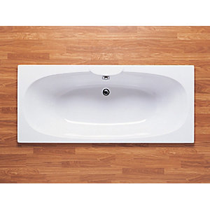Roca Sitges Double Ended Bath 1700 x 750 mm No Tap Hole 23200000