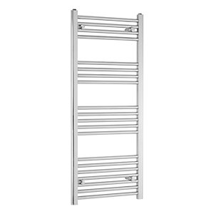 Flat Towel Rail 1100 x 500mm Chrome