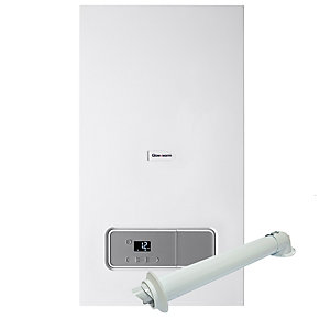Glow-worm Energy 25S Gas System Boiler ErP & Horizontal Flue Pack