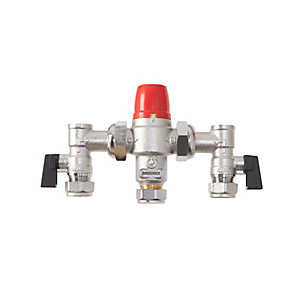 BOSSMix™ Thermostatic Mixing Valve & Strainers Non Return Valves & Isolation Valves Strainers 22mm