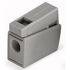 Wago 224-101 2 Way Lighting Connector - Grey - Box of 100  - Pack of 100