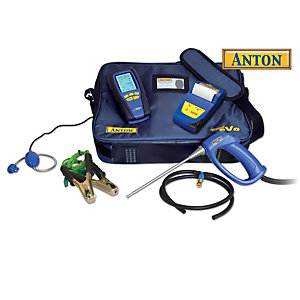Anton Sprint Evo3 Bluetooth Flue Analyser Kit 2 & Leak Probe Printer & Anton Pressure Relief Valve
