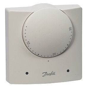 Danfoss Ret230L Electronic & 2 Led Indicators Room Thermostat
