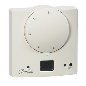 Danfoss Retmd Electronic & Delay Start Feature Room Thermostat