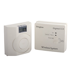 Drayton RF601 Digistat Plus RF Wireless Room Thermostat