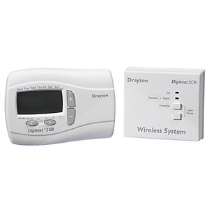 Drayton RF700 Digistat 24 Hour RF Wireless Programmable Room Thermostat