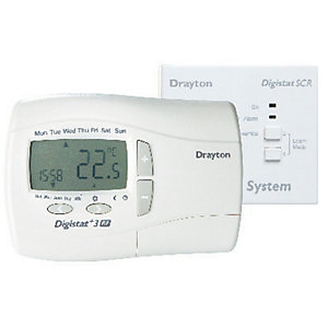 Drayton RF701 Digistat 7 Day RF Wireless Programmable Room Thermostat