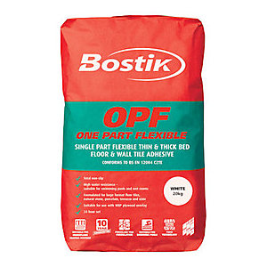 Bostik One Part Flexible Adhesive White 20kg