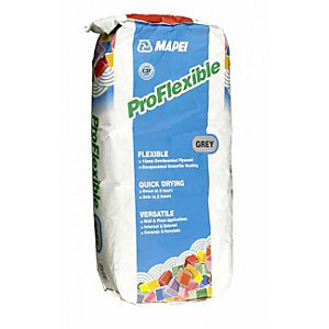 Mapei Pro Flexible Grey Cement Adhesive Powder Mix 20Kg