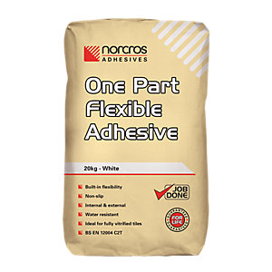Norcros One Part Flexible Adhesive White